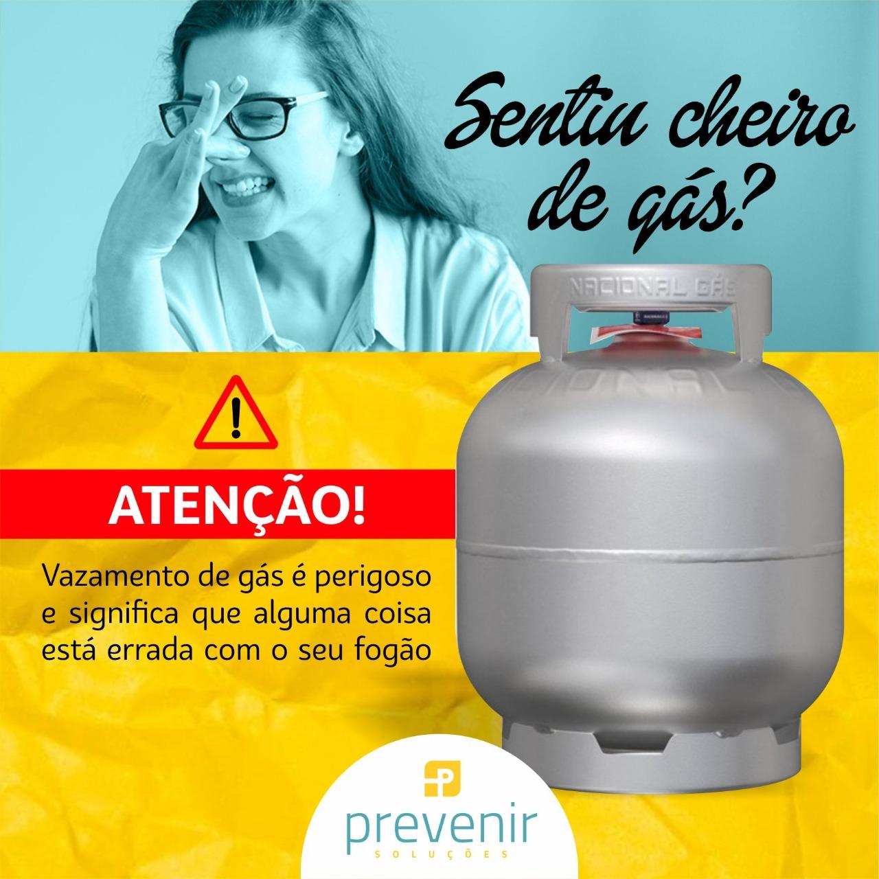 Segurança no Lar - vazamento de gás de cozinha!